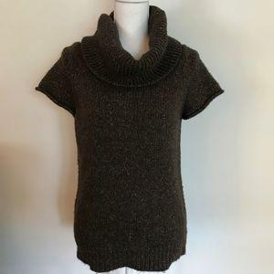 BCBG Maxazria Cowl Neck Sweater (Short-sleeve)
